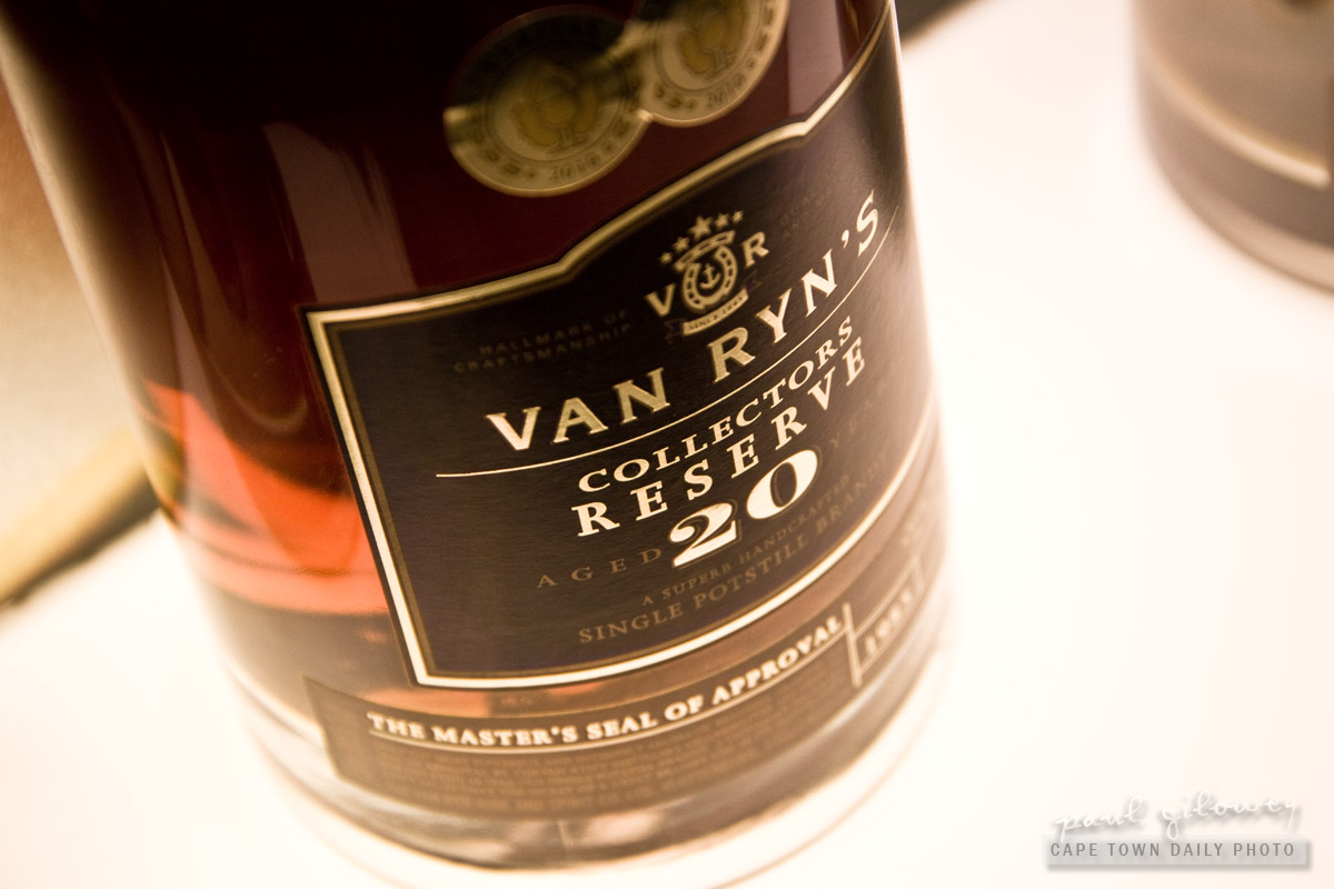 Van Ryn's, one of Cape Town's finest brandy distilleries