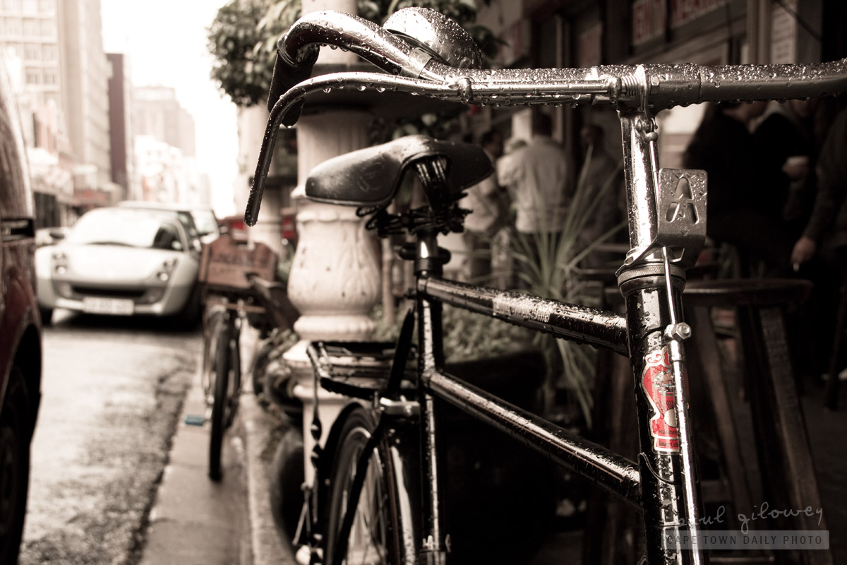 Bike in the rain