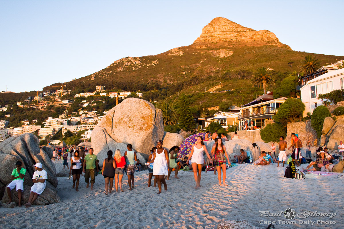 Lion's Head from Clifton 4th beach