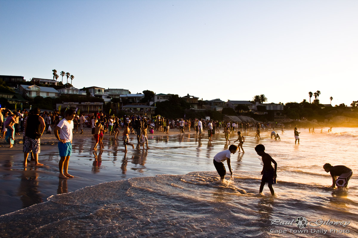 Summer evenings at the beach | Cape Town Daily Photo