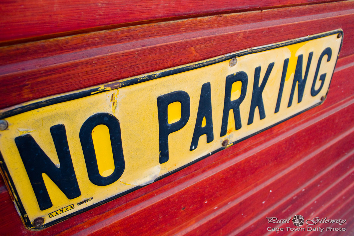 No parking, seriously