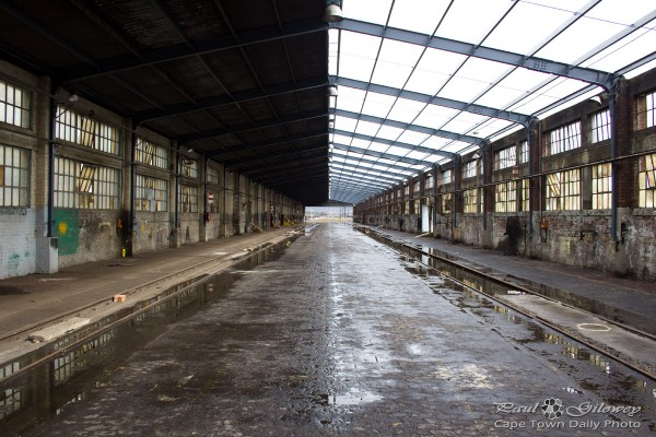 An old train workshop