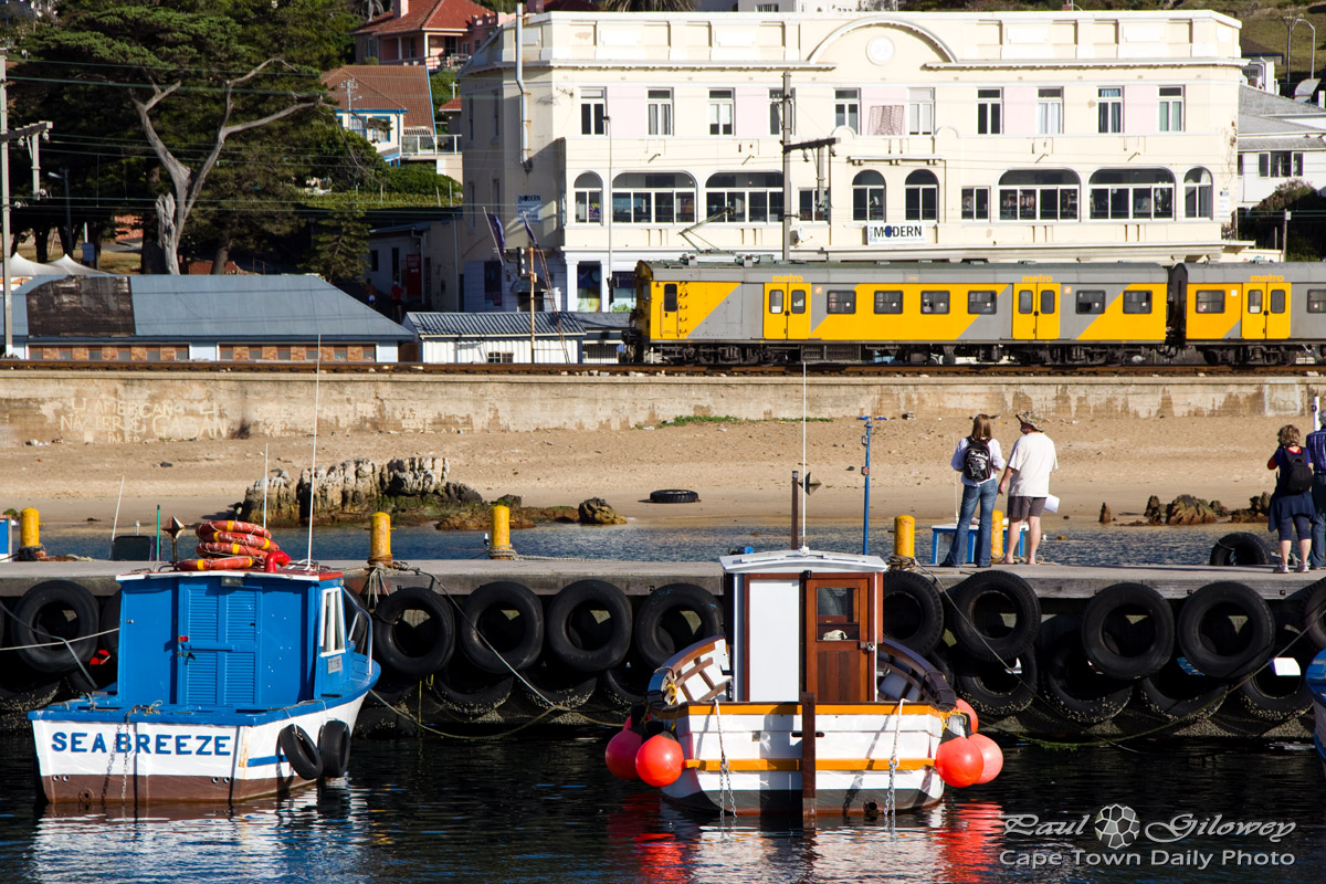 Trains, boats, and harbours