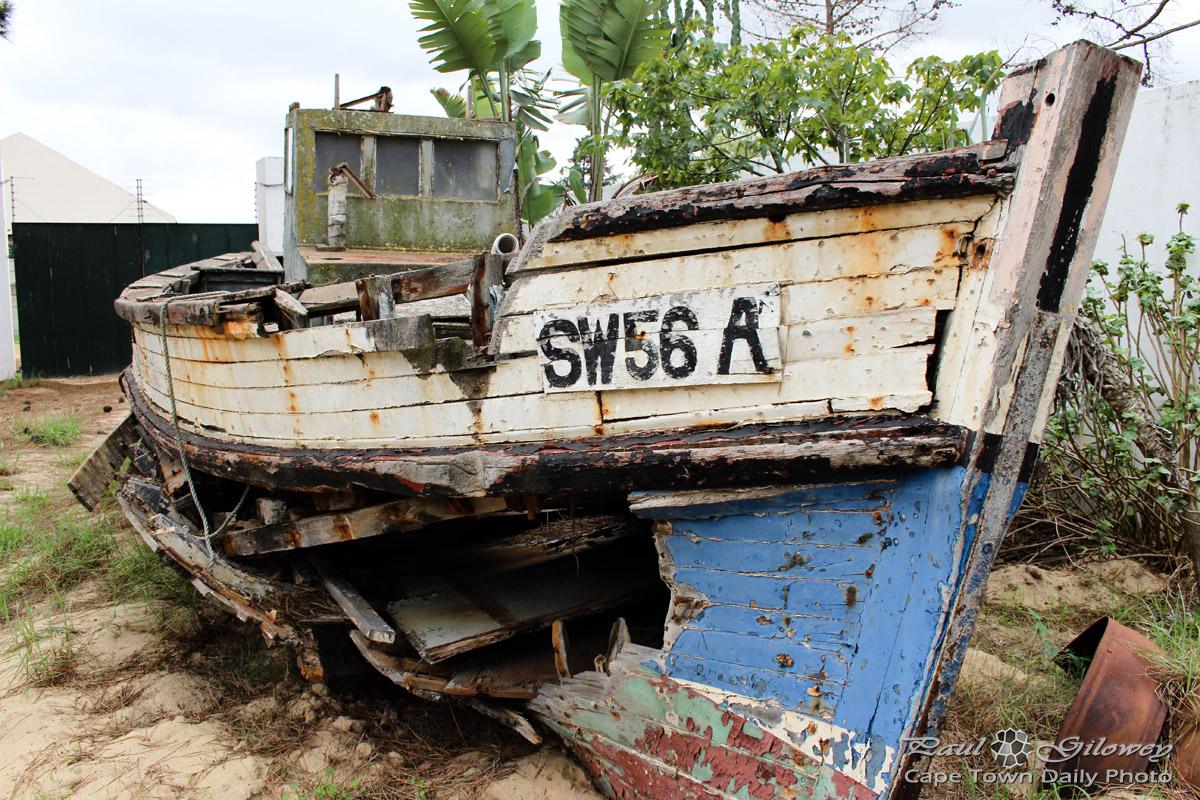 The Backyard Cape Town backyard broken boats | cape town daily photo