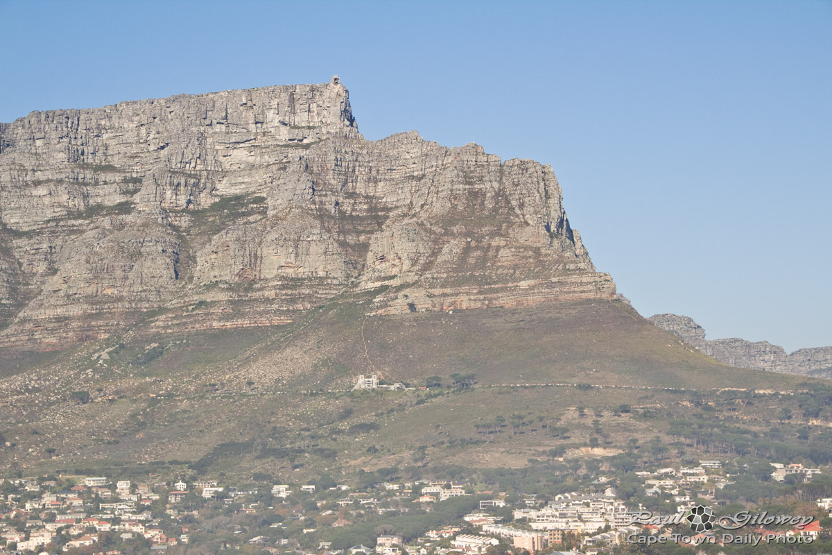 Table Mountain's sleeping giant