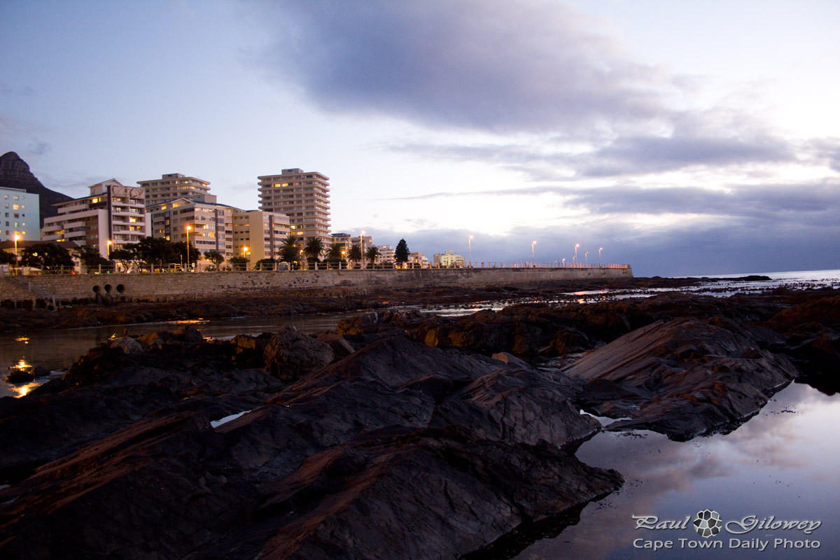 Sea Point at night