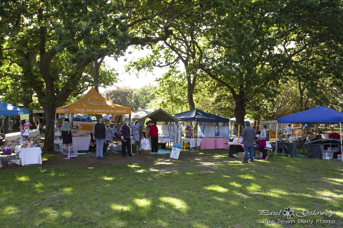 Craft Market in a park