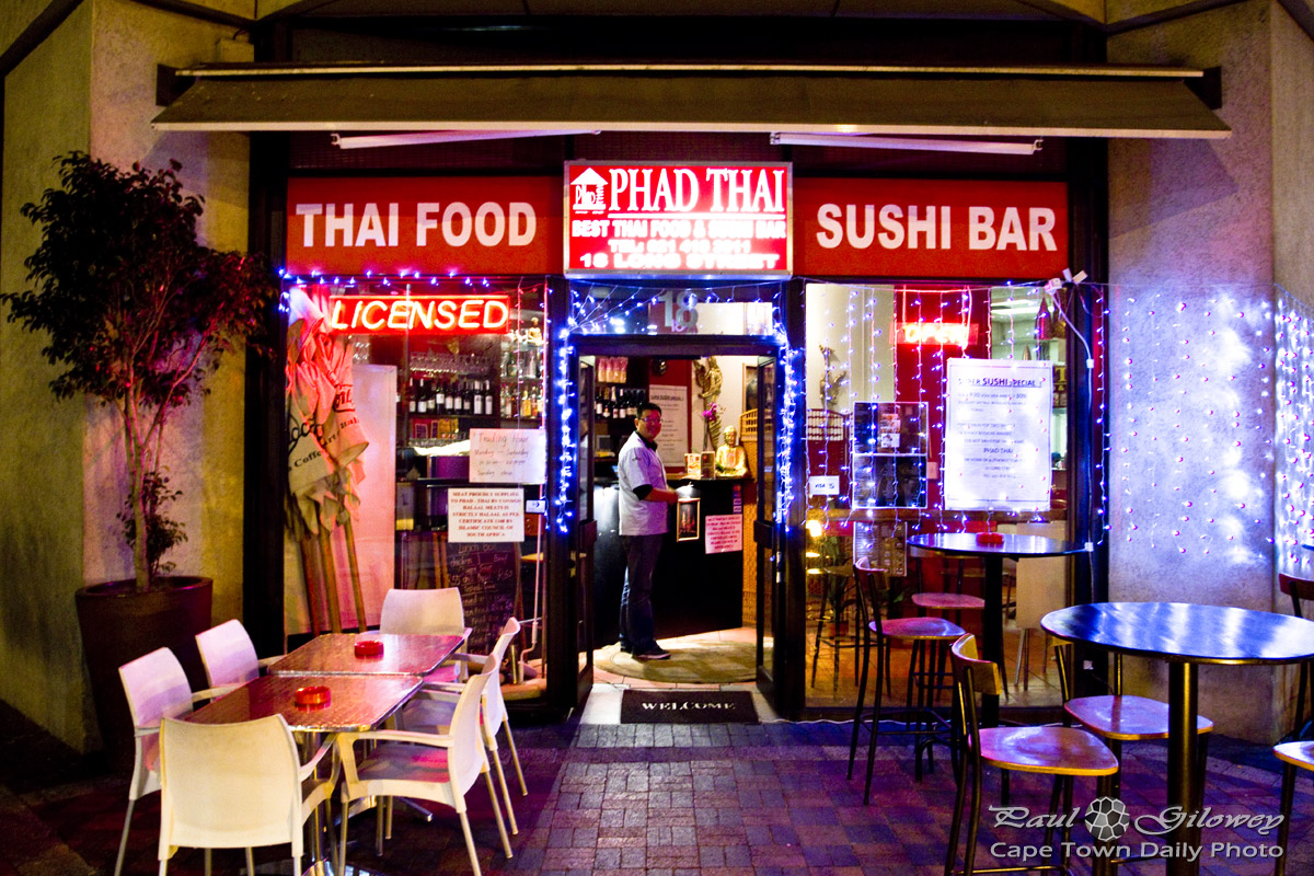 A new sushi spot in Cape Town