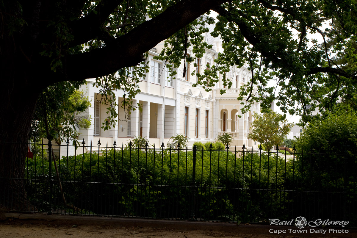 The theological seminary in Stellenbosch