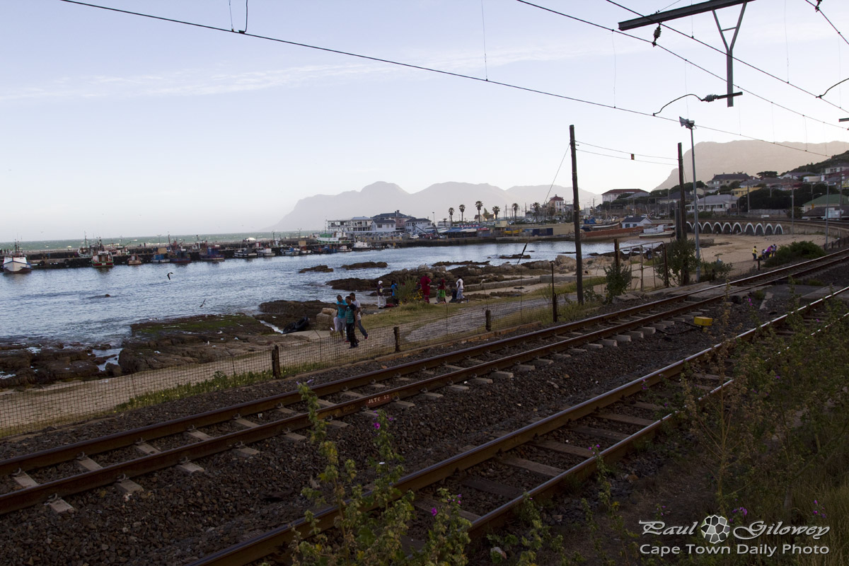 Kalk Bay train tracks