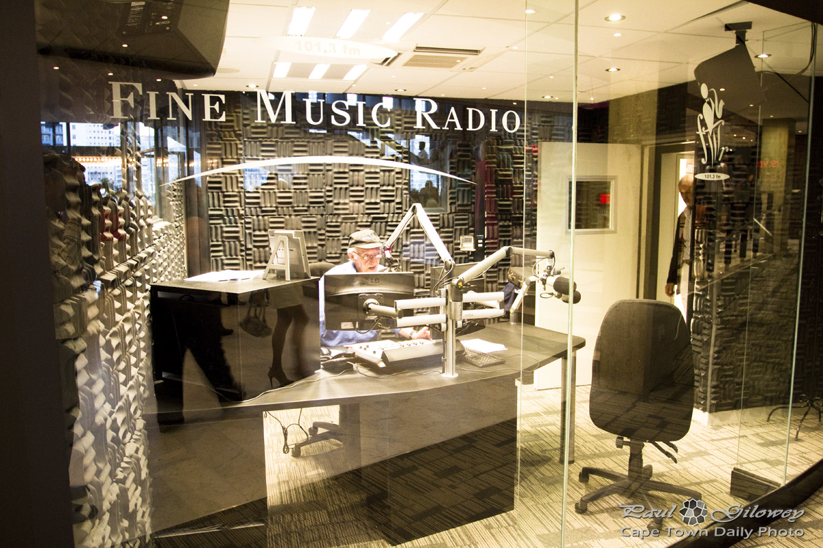 Fine Music Radio - studios at Artscape