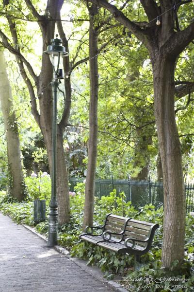 Peaceful places, garden benches
