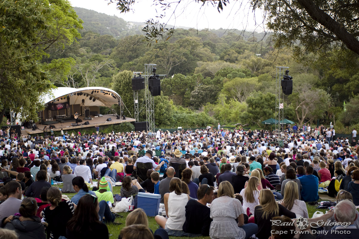 The Kirstenbosch Summer Sunset concerts