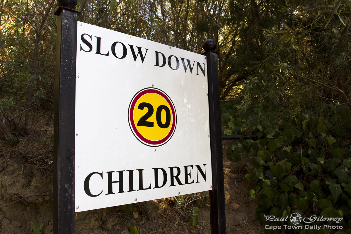 Slow down children!