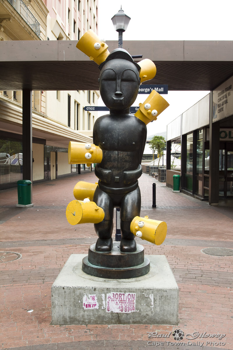 Bart Simpson in St George's Mall