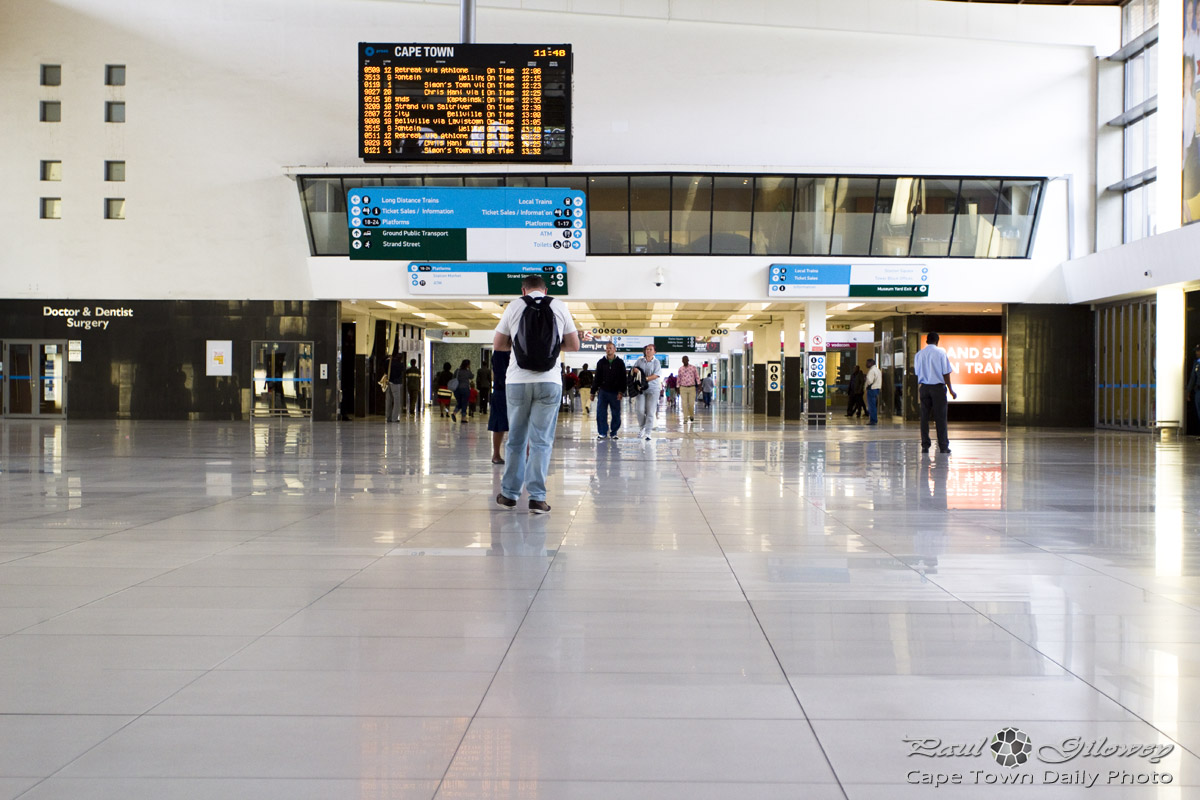 Inside Cape Town Station