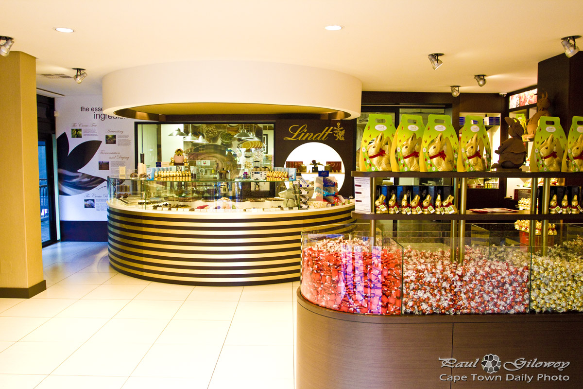 Lindt factory and shop