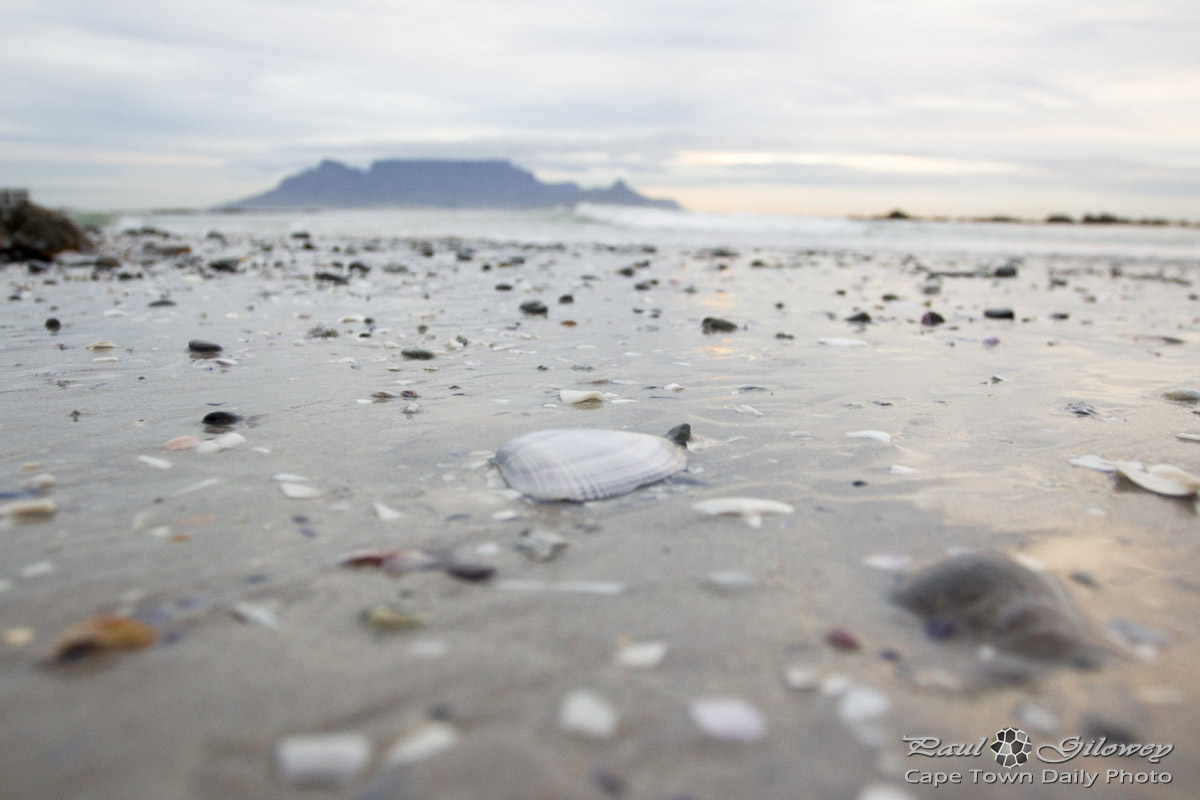 A seaside reflection at Blouberg