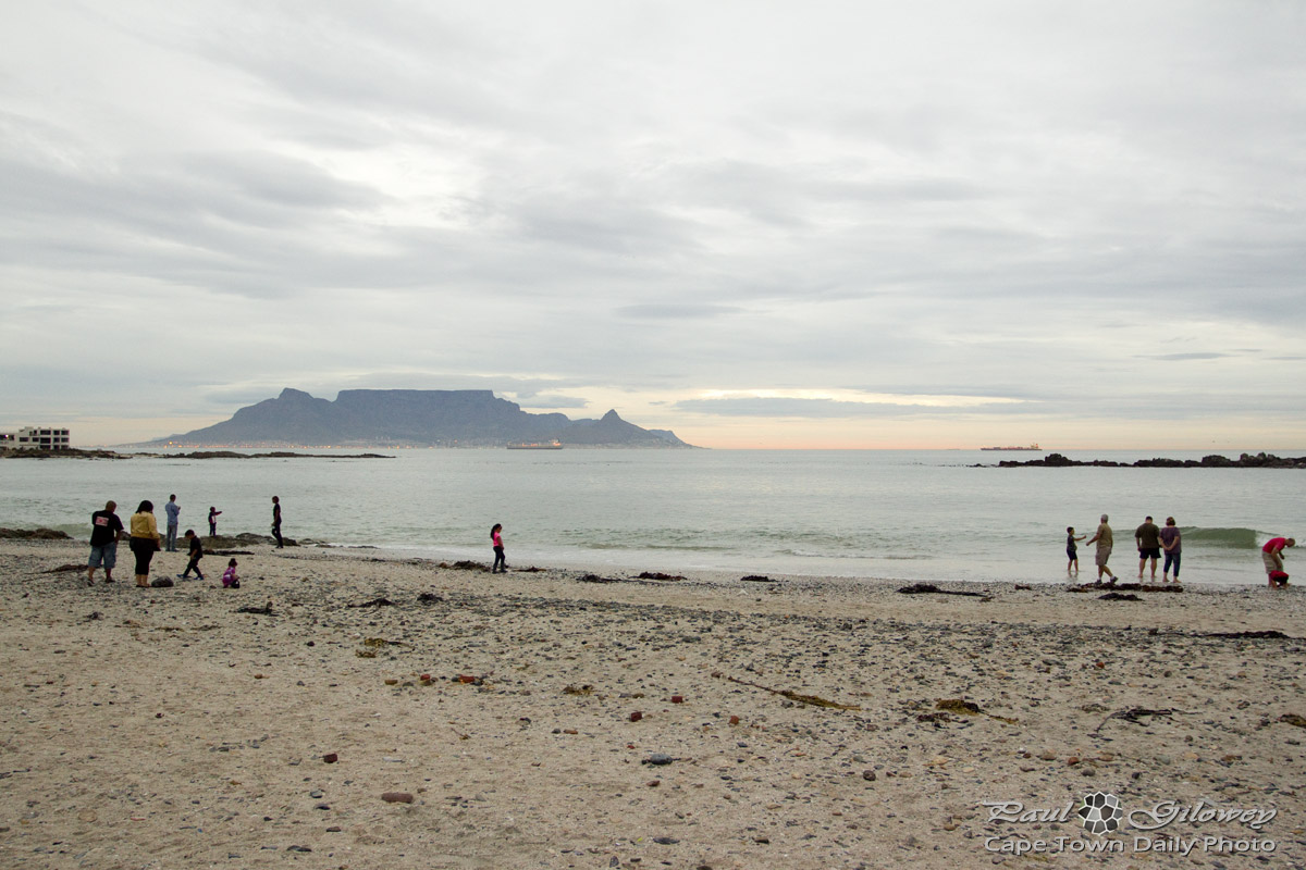 An idyllic view of Table Mountain