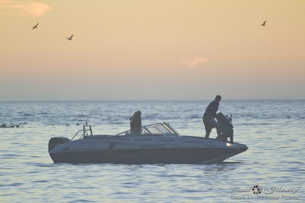 A killer speed boat