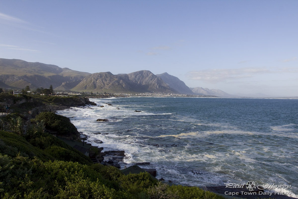 The beautiful Hermanus coastline