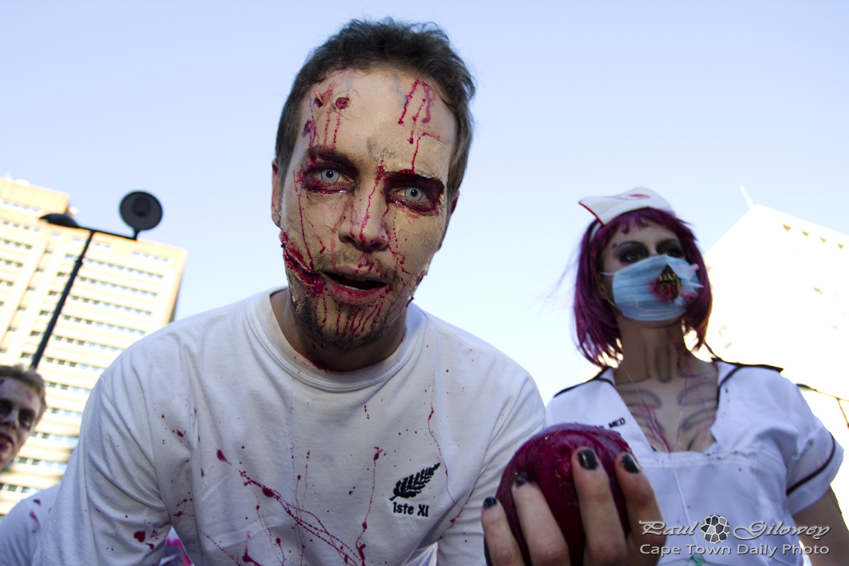 Cape Town Zombie Walk : Intensity Zombie
