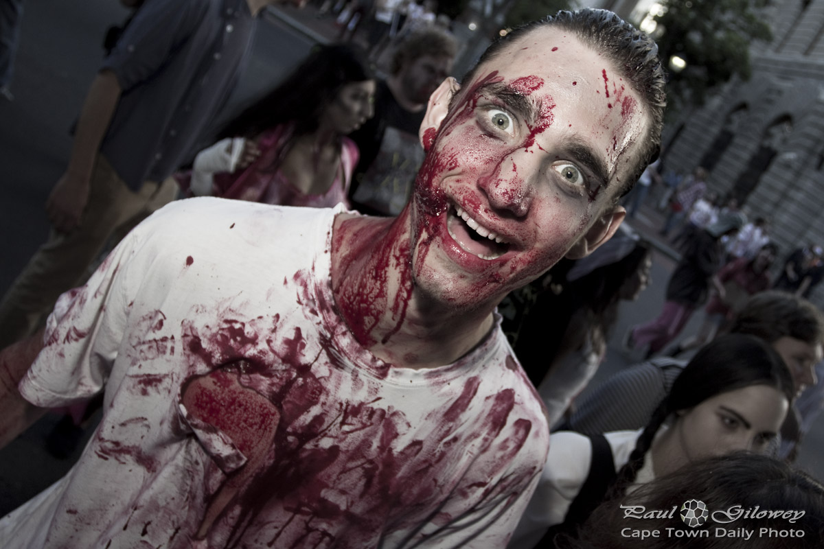 Cape Town Zombie Walk : Party Zombie