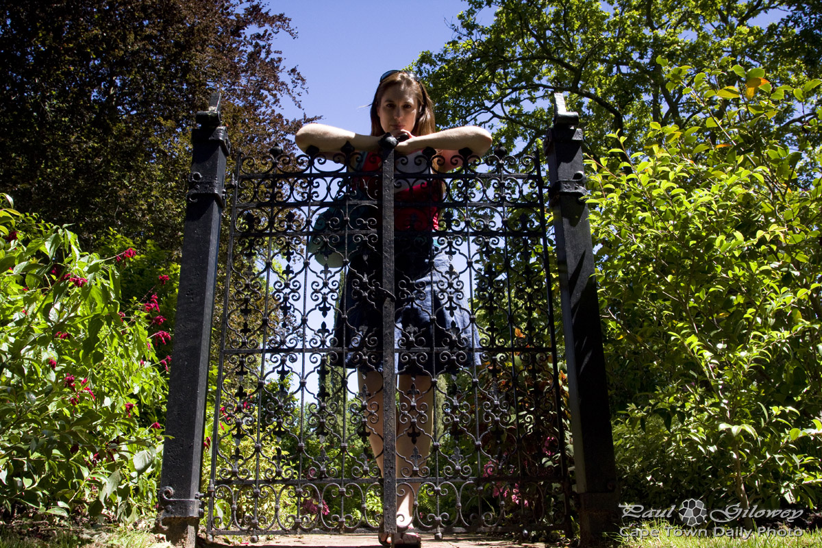Open gardens, closed gates