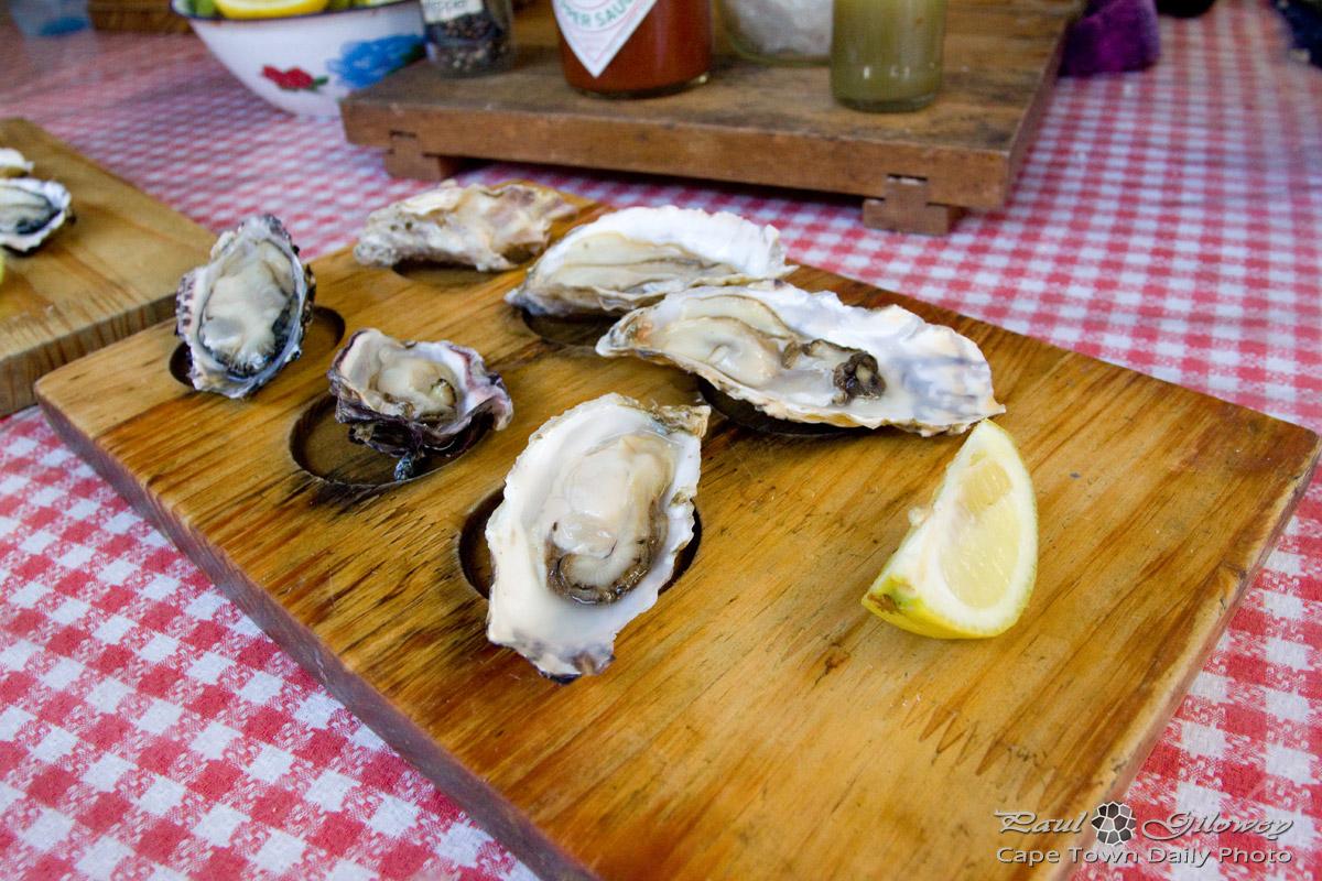 Eeuwww... oysters.
