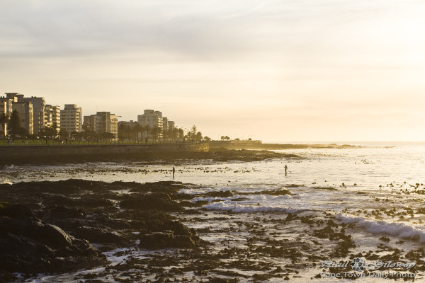 Sunset over Sea Point