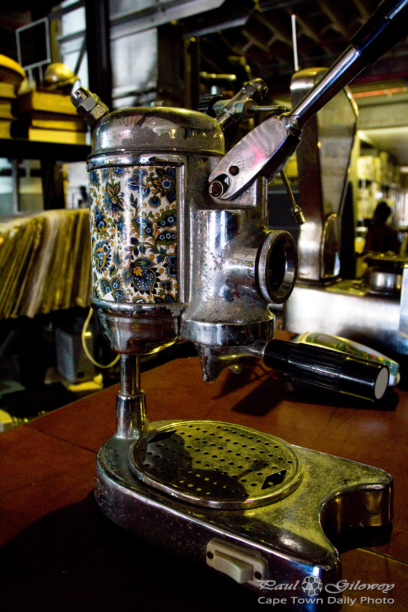 Truth's old coffee machines