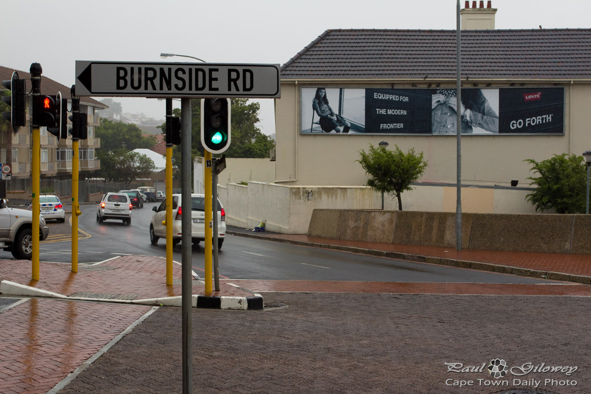 Rain at Burnside Road