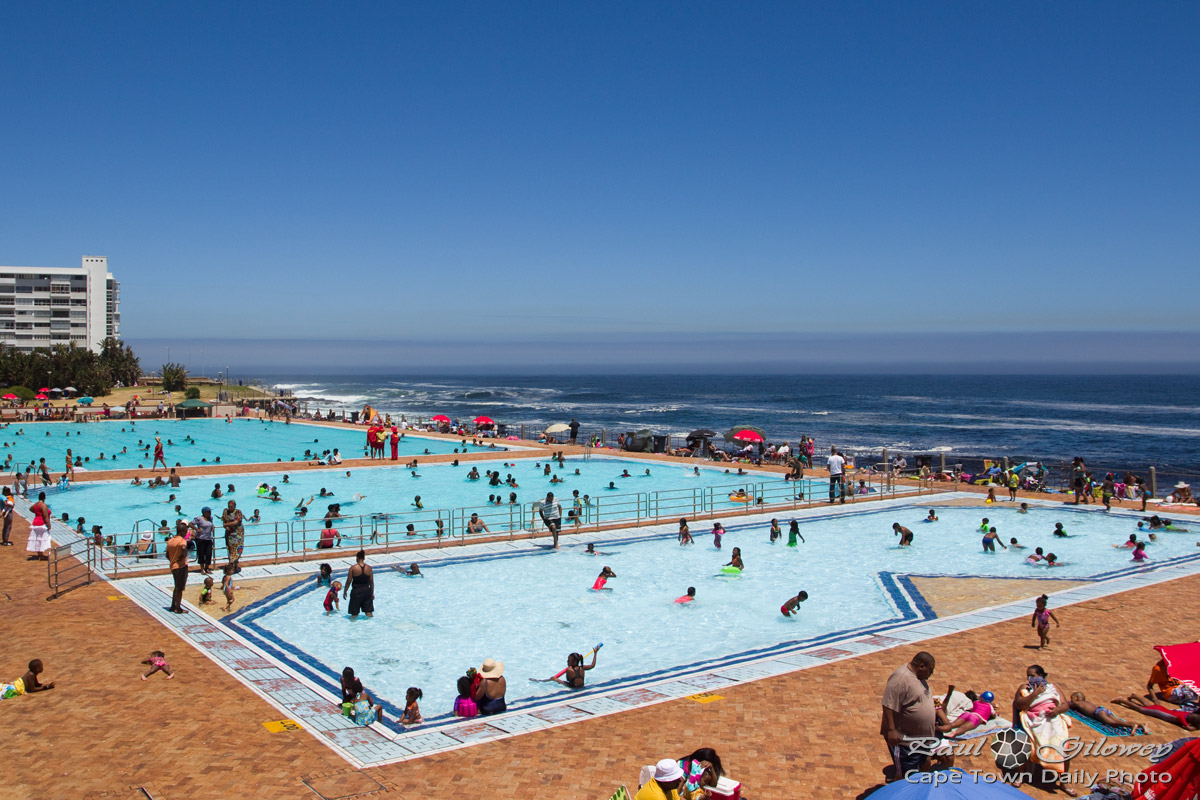 Sea Point Public Swimming Pool Cape Town Daily Photo