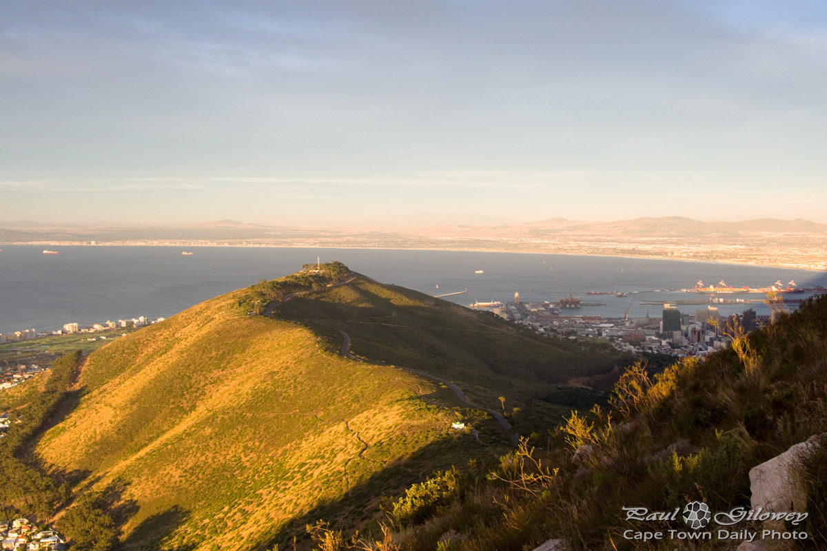 Signal hill, a view from Lion's Head
