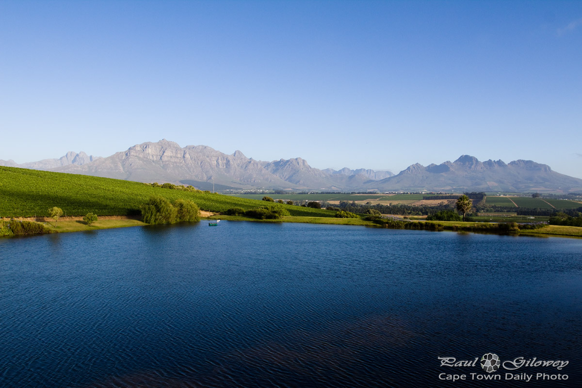 The mountains of Stellenbosch