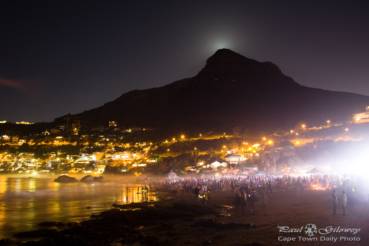 Moonstruck at Clifton 4th Beach