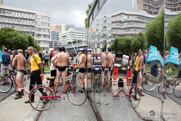 Not so very naked World Naked Bike Ride