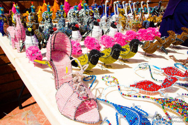 Cinderella's shoe of beads