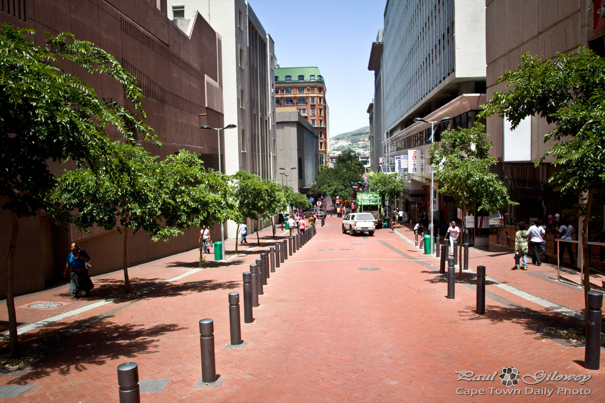 The red brick road called Waterkant Street