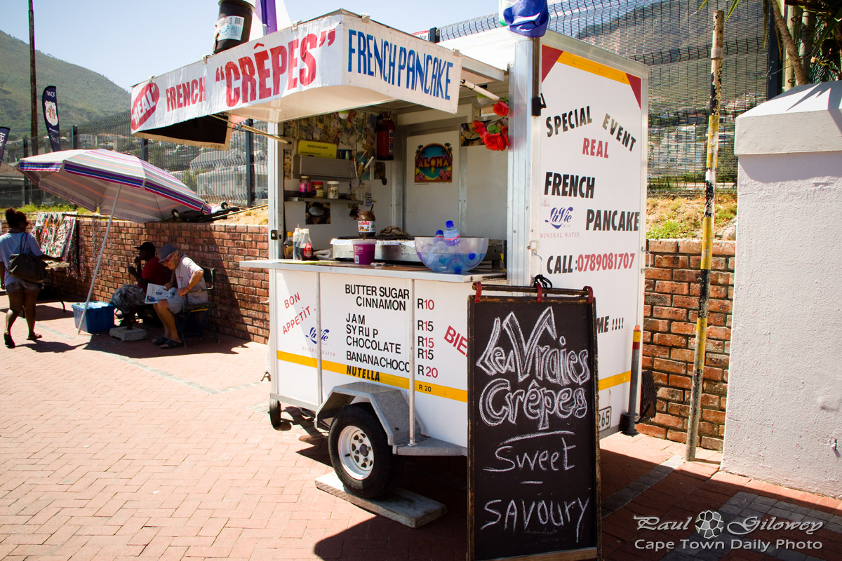 French crepes in Cape Town