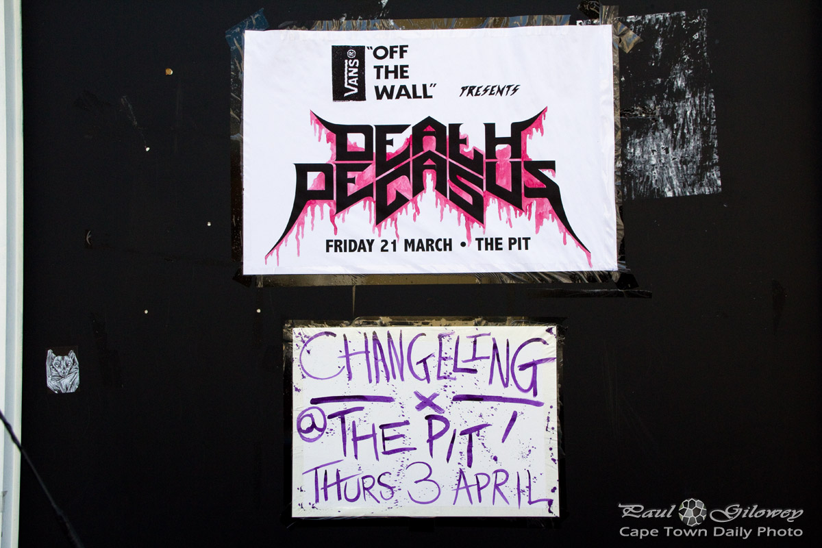 Street posters and the changeling