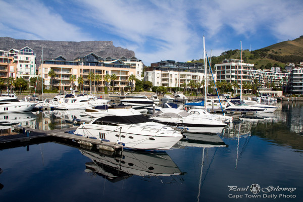Table Bay harbour's yacht basin
