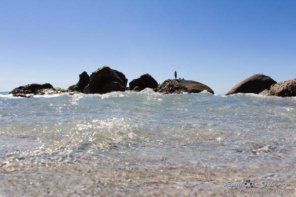 Overwhelming water tide