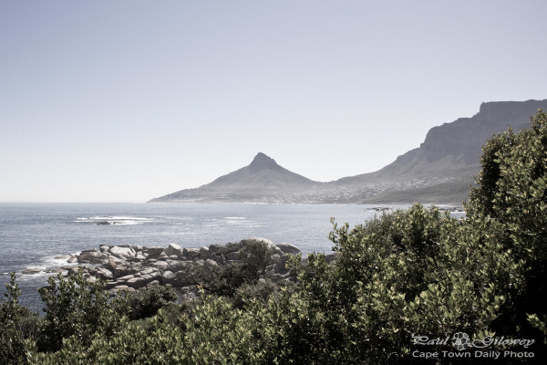 Lion's Head - the view from Oudekraal