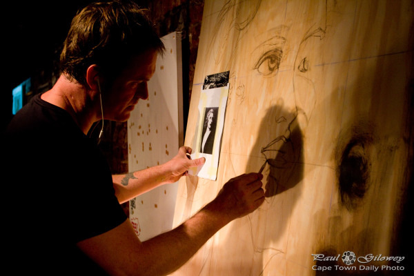 Kelly John Gough at work @artmode