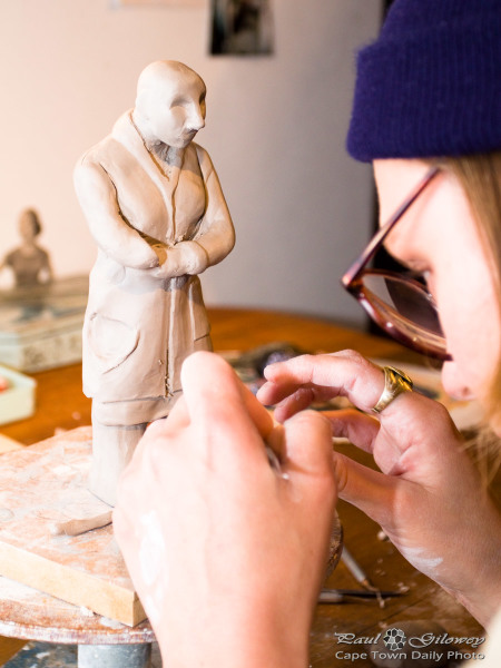 Sculpting by Gabrielle Alberts @Artmode
