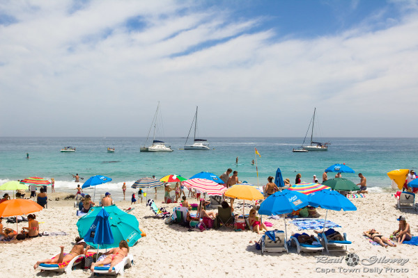 Beaches, yachts and umbrellas