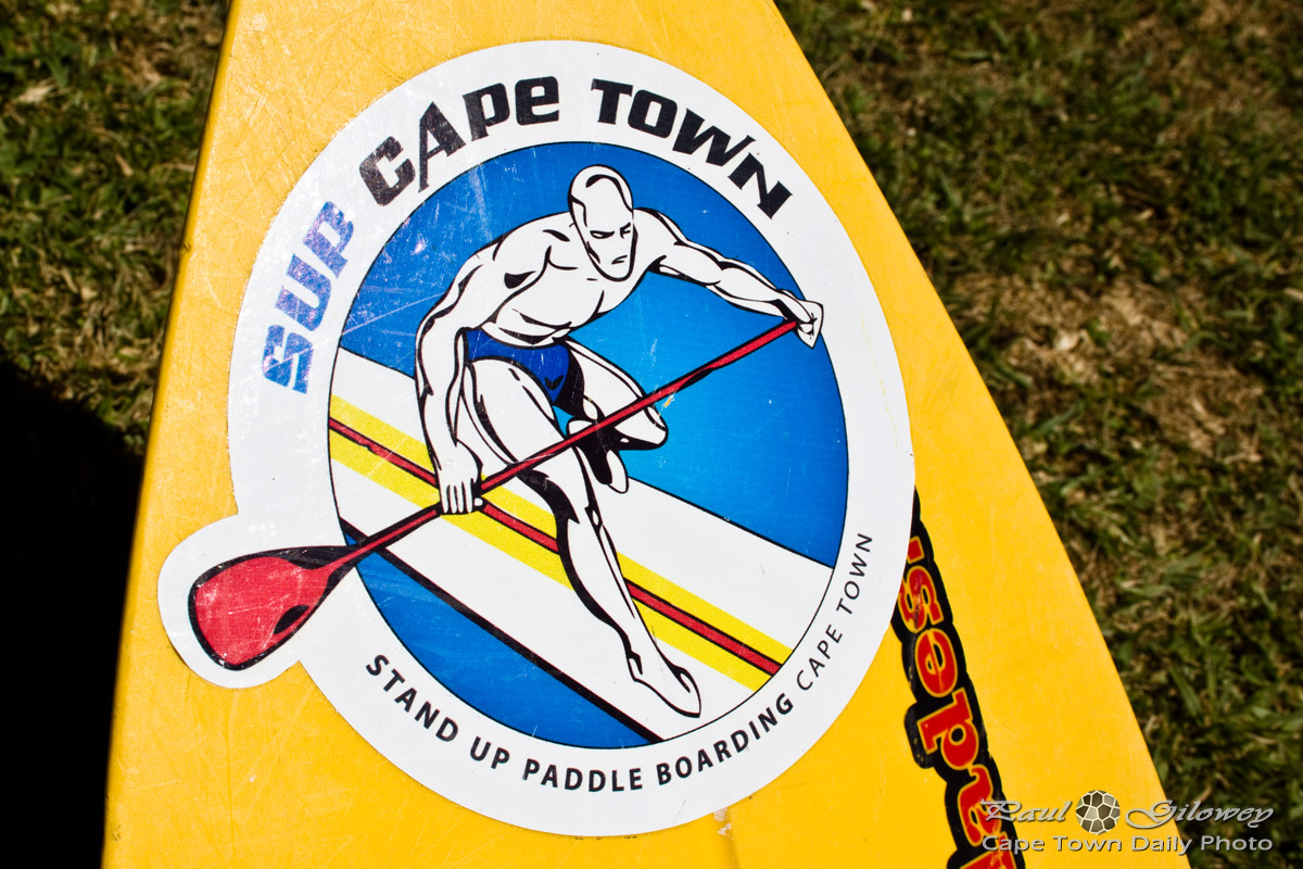 My first stand up paddling excursion