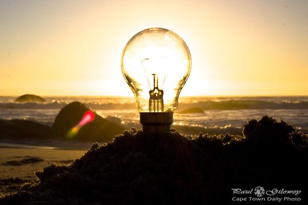 That old light-bulb stunt