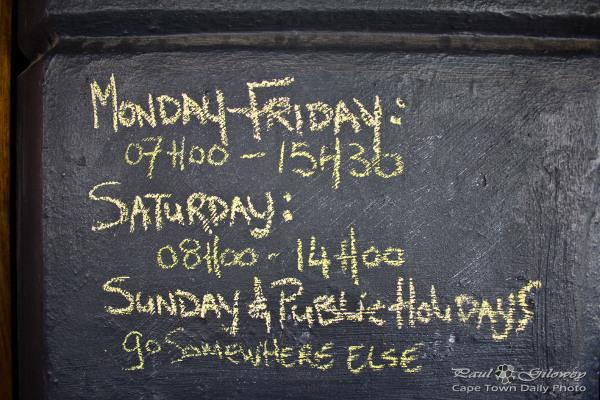 Jason Bakery's opening hours - go somewhere else